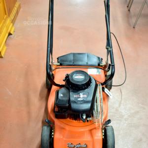Rasa erba a motore New Garda XC35 arancione Funzionante