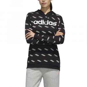 Felpa Adidas Logo Black da Donna