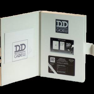 Diamante Sigillato Davite&Delucchi ct 0.09