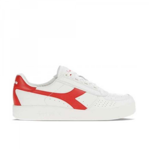 Diadora B.Elite White/Red Italy da Uomo