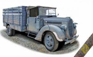 G917T 3t German Cargo Truck