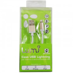 Cavo Apple Lightning - 100 cm - Oro - LUMI