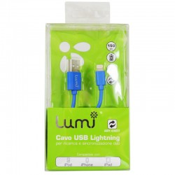Cavo Apple Lightning - 150 cm - Blu - LUMI