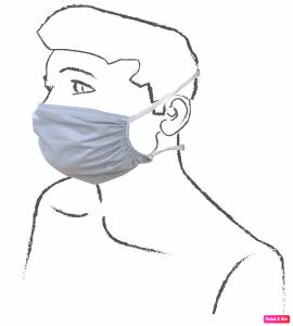 Mascherine ad uso civile Adulto - Bimbi Confezione da 10 pz