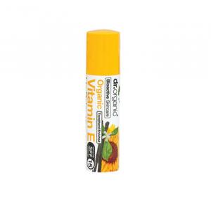 Dr Organic Vitamin E Lip Balm 15Spf 5.6ml
