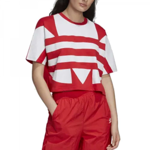 Adidas T-Shirt Red da Donna