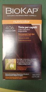 Biokap Nutricolor tinta per capelli 4.06 castano caff\u00e8