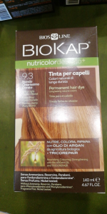 Biokap Nutricolor tinta per capelli 9.3 Biondo chiarissimo dorato