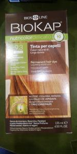 Biokap Nutricolor tinta per capelli 9.3 RAPID Biondo chiarissimo dorato
