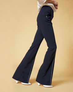 Pantalone con spacchi ampi Manila Grace P049PU