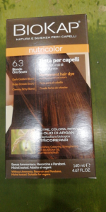 Biokap Nutricolor tinta per capelli 6.3 Biondo oro Scuro