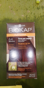 Biokap Nutricolor tinta per capelli 6.4 Rame Curry