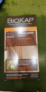 Biokap Nutricolor tinta per capelli 10.0 biondo Extra Chiarissimo