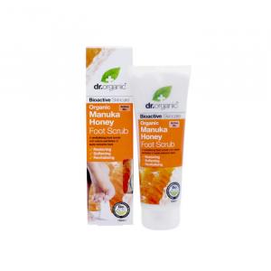 Dr Organic Manuca Honey Foot Scrub 125ml