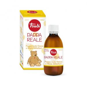 Pappa Reale 150 ML è un integratore alimentare che sfrutta tutte le proprietà benefiche della pappa reale fresca e del miele millefiori specifico per i bambini. Senza Glutine.