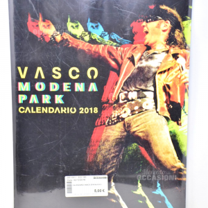 Calendario di Vasco anno 2018 NUOVO
