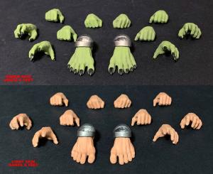 Mythic Legions - Arethyr: HANDS & FEET