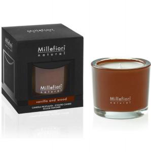 Candela Millefiori - Vanilla & Wood