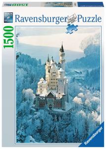 Neuschwanstein d'inverno Ravensburger 1500 pz