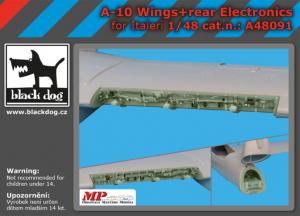 A-10 wings + rear electronics