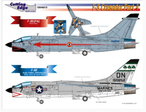 F-8 Crusader Part 4 Cutting Edge Modelworks CED48213