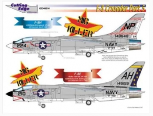 F-8 Crusader Part 5 Cutting Edge Modelworks CED48214