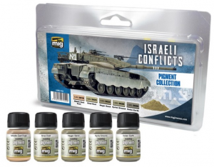 ISRAELI CONFLICTS PIGMENT COLLECTION