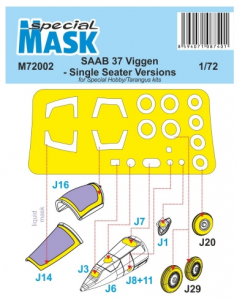 Mask for SAAB 37 Viggen Single Seater