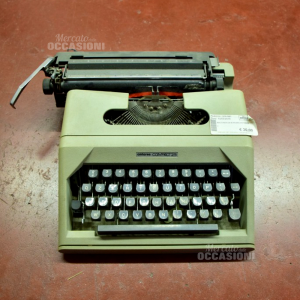 Macchina Da scrivere Antares colore beige