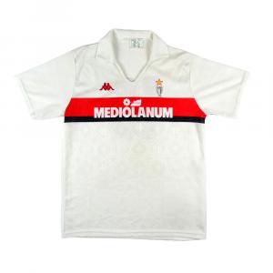1989-90 Ac Milan Maglia Away #10 Gullit XL (Top)