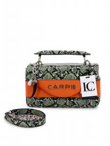 Borsa con un manico La Carrie 101M-L-500-SPE\GR-OR Arancio
