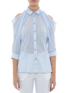 Camicia Les Bourdelles des Garçon camicia in georgette e profili raso C39