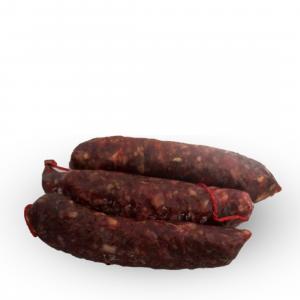 Salsiccia secca piccante di maiale nero casertano
