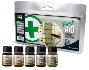 FIRST AID BASIC WASHES