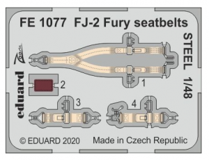 Fury seatbelts STEEL
