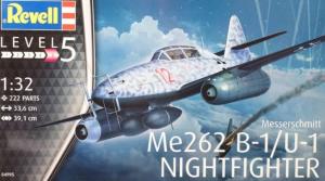 Messerschmitt Me262 B-1/U-1 Nightfighter Revell 04995