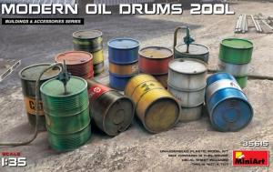 Modern Oil Drums - 200 l