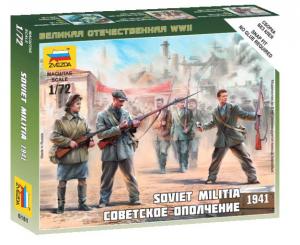 SOVIET MILITIA