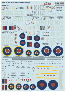 Spitfire Aces of NW Europe 1944-45