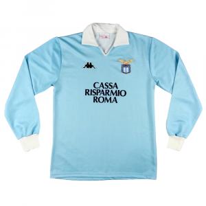 1987-88 Lazio Maglia Home L ( Top )