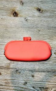 Portaocchiali silicone sabine be arancio fluo