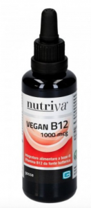 NUTRIVA  VEGAN B12 1000 MCG - GOCCE