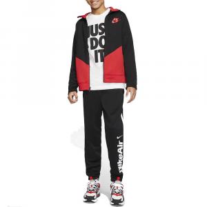Nike Tuta Completa Black/Red da Bambino