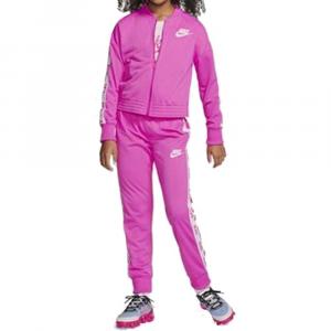 Nike Tuta Completa Swoosh Purple da Bambina