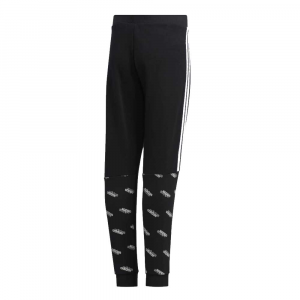 Adidas Pantalone Logo Black da Bambino