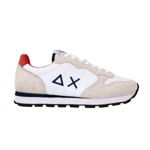 Sneaker bianca/rossa SUN68