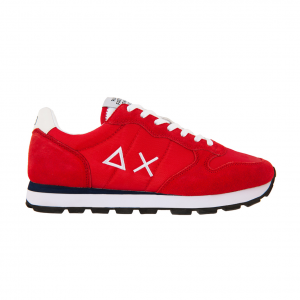 Sneaker rossa/bianca SUN68