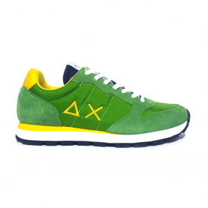 Sneaker verde/giallo SUN68
