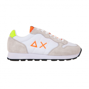 Sneaker bianca/fluo SUN68