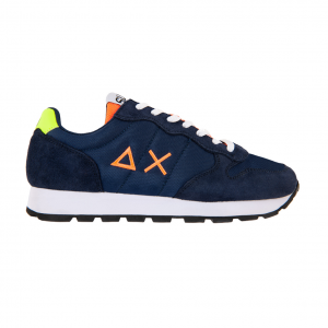 Sneaker navy/fluo SUN68